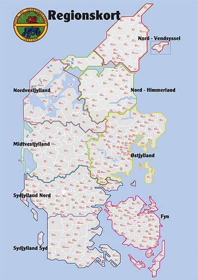 Regionsoversigt for MTKJ